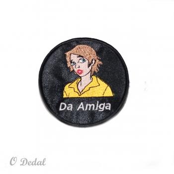 """Emblema """"Da Amiga"""""""